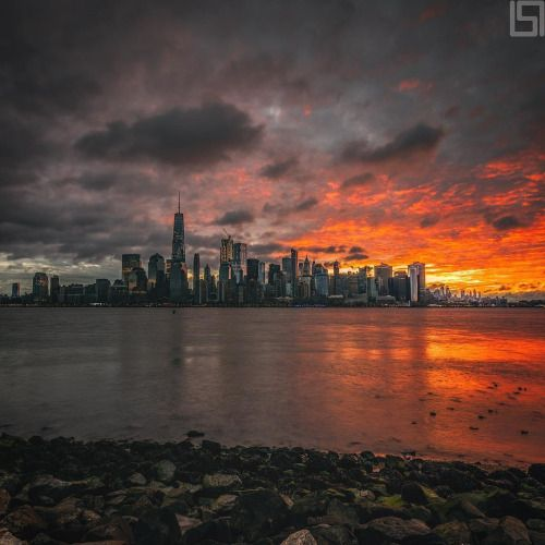 Sunrise in New York City by Paul Seibert @pseiberphoto