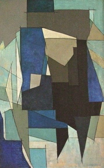 Leon Smets Composition, 1966