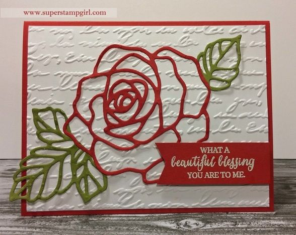 Rose Wonder Thinlit #stampinup