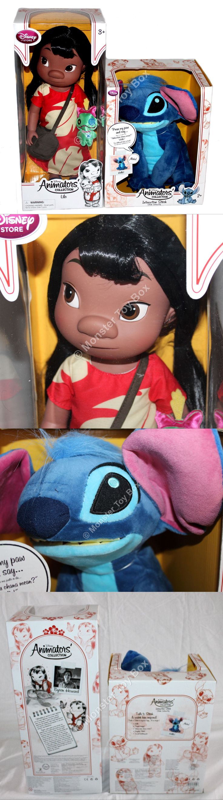 Lilo and Stitch 44035: 16 Animator Toddler Lilo Doll And Interactive Stitch Disney Store Lilo And Stitch -> BUY IT NOW ONLY: $72 on eBay!