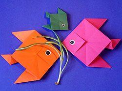 Fische falten