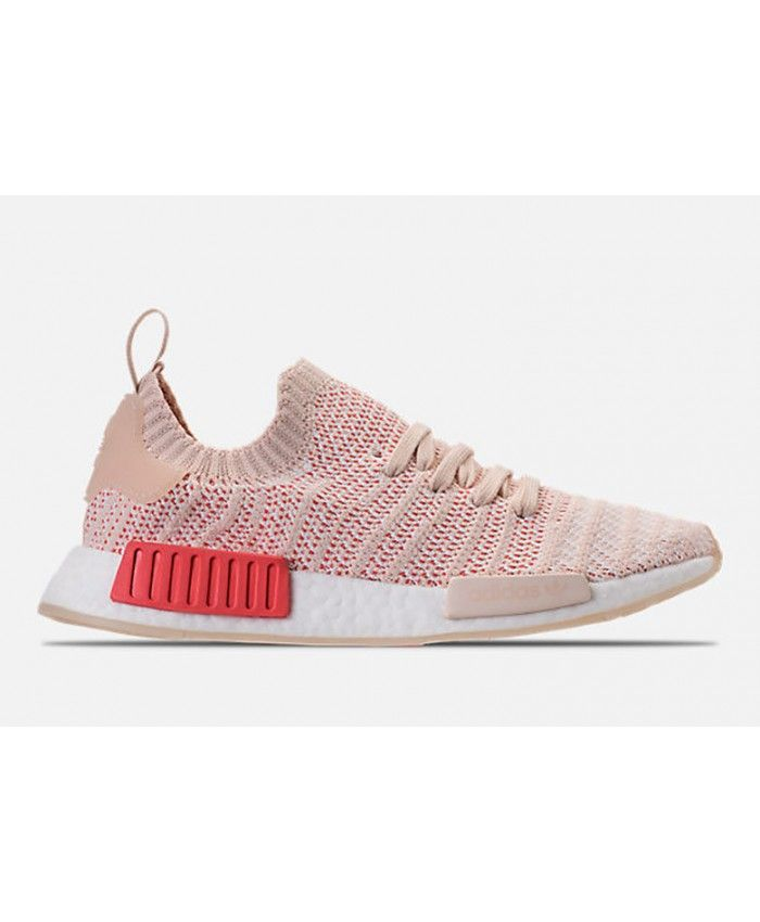 timeless design 346a6 1c9aa Adidas NMD R1 Stlt Primeknit Linen White Trainers Womens Cheap Sale