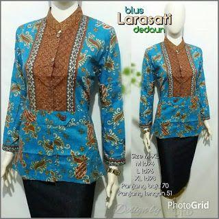 Baju Batik Kerja Wanita, Grosir Batik Solo, Baju Batik Pria: Blus Murah, Pekalongan, Blus batik