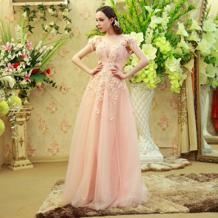 Find More Evening Dresses Information about Real Amazing Luxuries robe de soiree vestidos de fiesta Beads Tulle Pink Flowers robe de soiree courte Party Evening Dress,High Quality flower fairy dress,China dress up flowers Suppliers, Cheap flower dress shoes from wellbridal dresses 738196 on Aliexpress.com