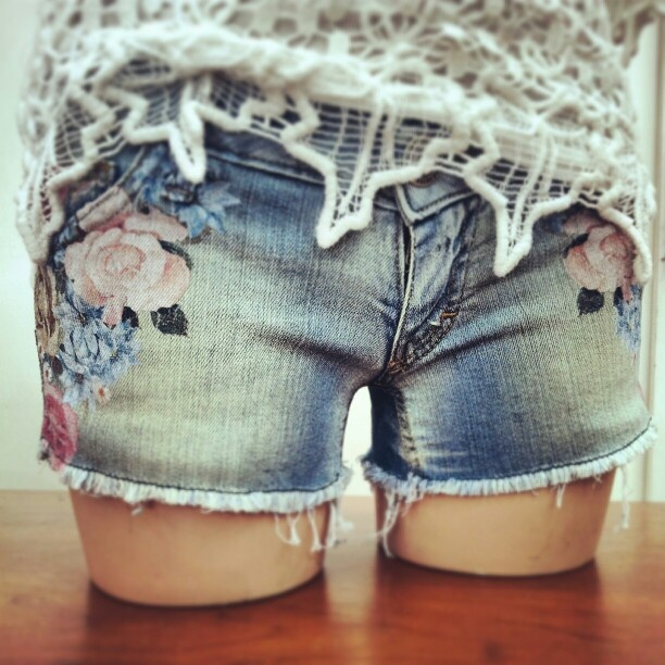 new collection spring summer 2013: shorts with floral print #shorts #floral #madeitaly #style