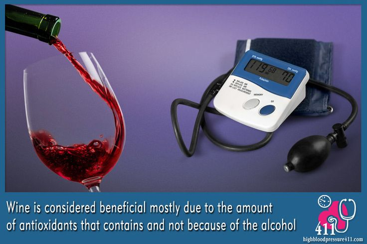 Blood Pressure and Alcohol