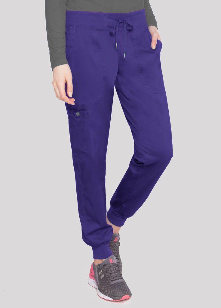 Medium Women\u2019s tie Dye Jogger Scrub Pants Blue /& Navy Blue