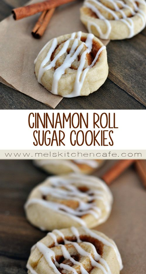 Cinnamon Roll Sugar Cookies | Recipe | Cinnamon rolls, Sugar cookies ...