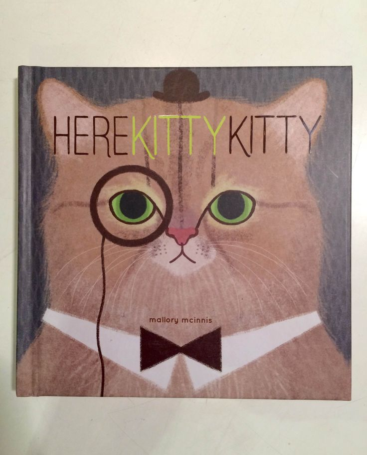 Here Kitty Kitty // Art celebrating cats. For people who love cats. // Mallory Mcinnis