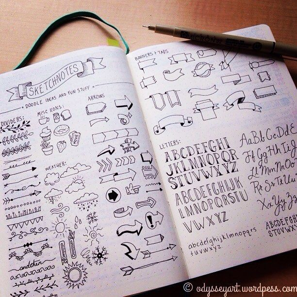what your doodles really say about you arrows for - 612×612