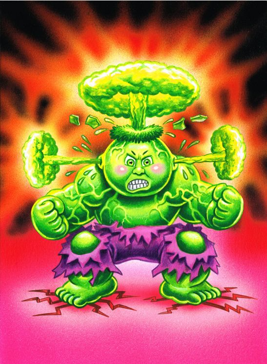 Brent Engstrom – Garbage Pail Kids New Series