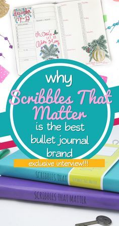 Scribbles that Matter is amazing stationery company that specializes in notebooks. They are amazing popular in the bullet journal community, thus I reached out to the brand to learn more about the AMAZING supplies they offer. Read this interview with Scribbles that Matter and learn why they are a top brand recommended for bullet journals. #bulletjournal #bujo #bulletjournalsupplies #stationery #notebook #diy #interview
