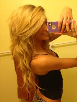 waves and long bangs! Gorgeous!