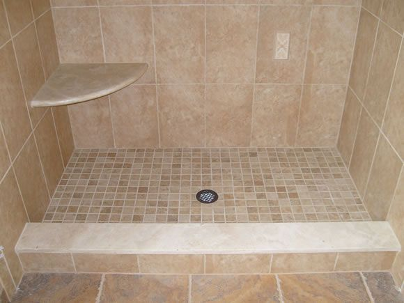 Tiled Shower Threshold Shower Threshold Loft Bathroom