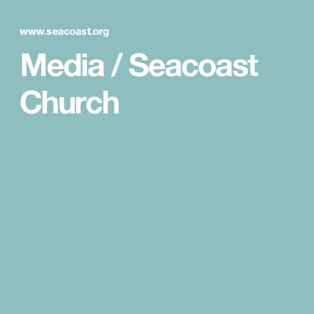 "Click on the pin. Once you reach the Seacoast Church Website, scroll down to Week 4 ""How to Sleep through the Storm."""