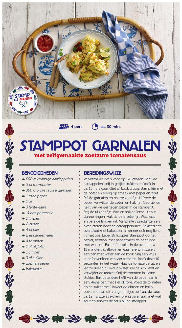 Stamppot garnalen