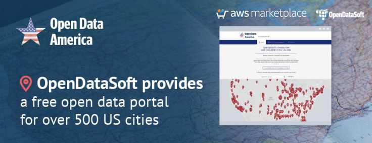 OpenDataSoft Launches Open Data America: A Free Data Portal for over 500 U.S. Cities - O...