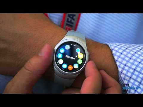 Samsung Gear S2 Hands-On - YouTube