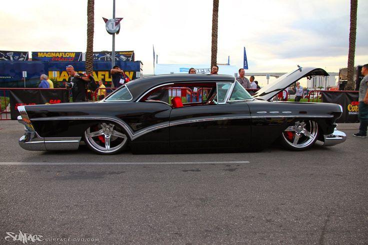 Custom 1957 Buick Special Raceline Wheels Lowrider Black