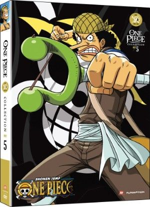 One Piece DVD Collection 5 (Hyb) (Eps 104-130) Uncut  #RightStuf2013