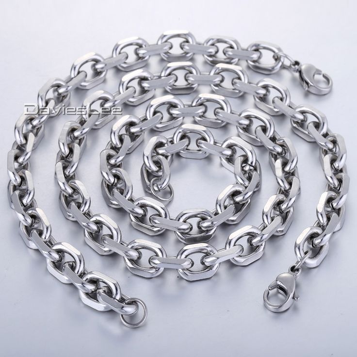 Find More Jewelry Sets Information about 2.5/3/4/6/10mm Mens Womens Silver Tone 316L Stainless Steel oval Necklace Chain Jewelry Wholesale Jewelry Gift KS122,High Quality jewelry arrangement,China jewelry beijing Suppliers, Cheap jewelry mother from Davieslee Store on Aliexpress.com