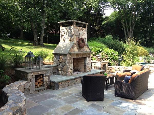 Charmant 53 Most Amazing Outdoor Fireplace Designs Ever
