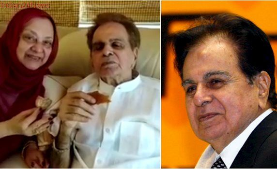 Dilip Kumar makes Facebook debut, shares a cup of tea with wife Saira Banu in beautiful first video