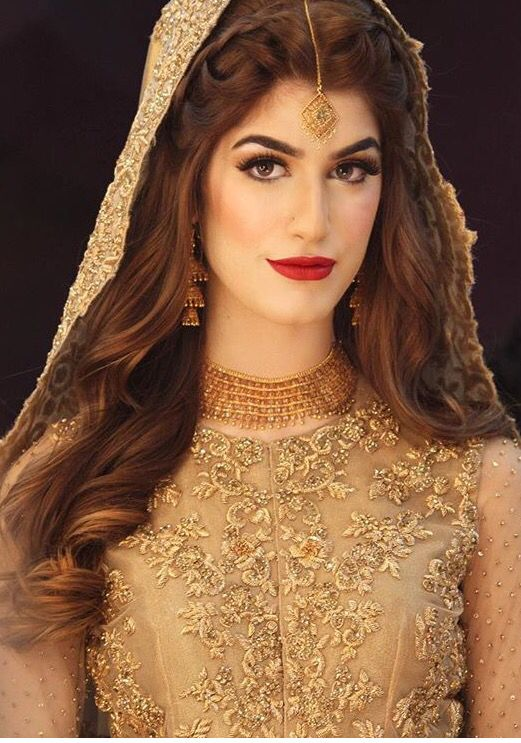 Beautiful bride By Natasha Salon Karachi