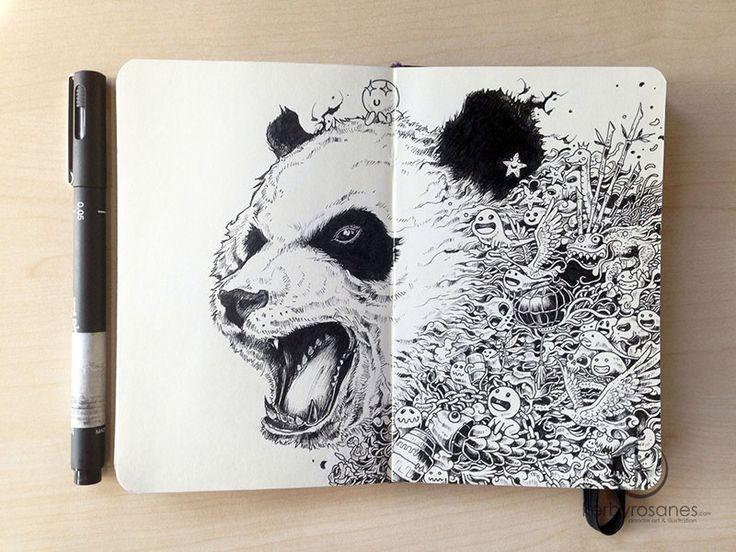The Amazing Moleskine Sketchbook of Kerby Rosanes (2)