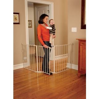 Regalo Extra Wide Flexi Safety Gate | Overstock.com Shopping - The Best Deals on Child Gates