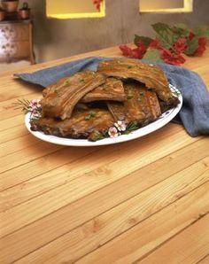 Como fazer costelas de porco em uma panela Crock Pot | eHow Brasil
