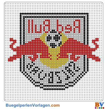 Red Bull Salzburg Bügelperlen Vorlage. Auf buegelperlenvorlagen.com kannst du eine große Auswahl an Bügelperlen Vorlagen in PDF Format kostenlos herunterladen und ausdrucken.
