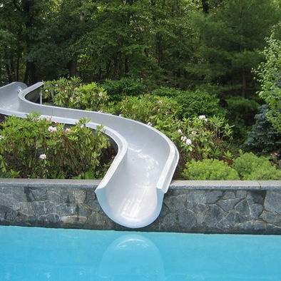 Pool Designs With Slides 81 best swimming pools images on pinterest | swimming pools
