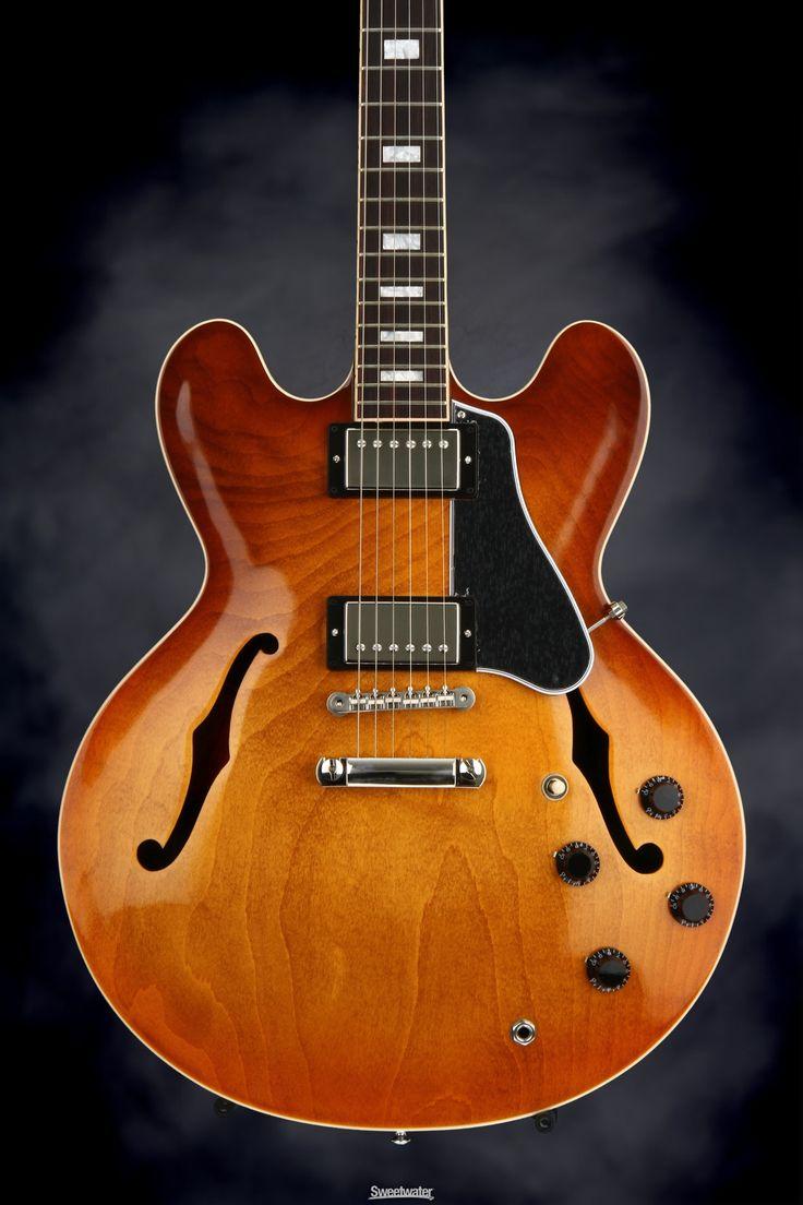 Gibson Memphis ES-335 Block - Faded Lightburst | Sweetwater.com