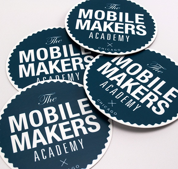 Mobile makers academy stickers