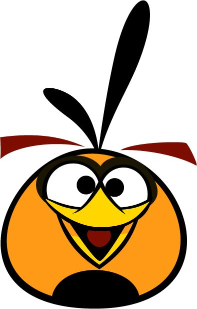bubbles the orange bird is a character in the angry birds series of game