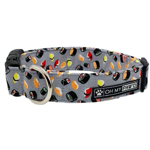 Sushi Dog Collar For Female Dogs Funny Dog Collar With Sushi Cat