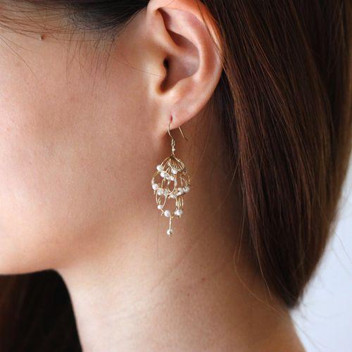petal short pierce - asumi bijoux