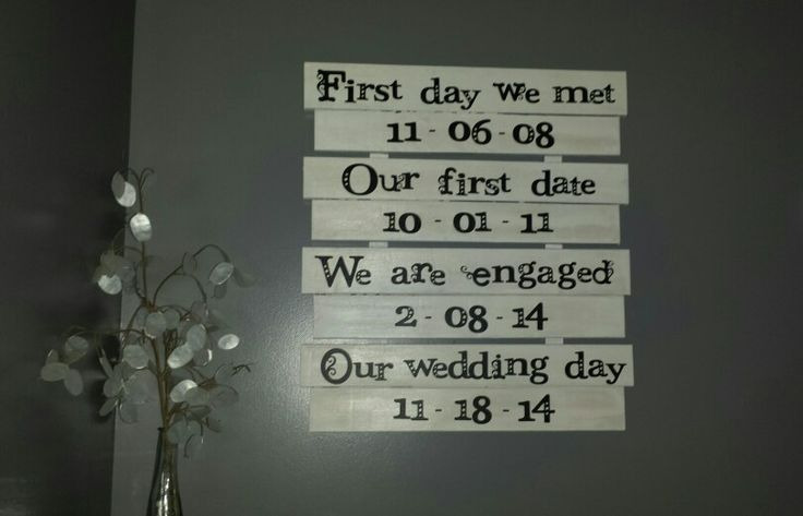 Wedding ideas diy sign