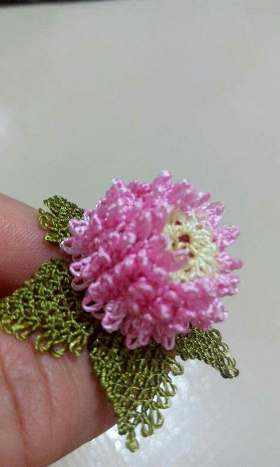 very beautiful delicate oya