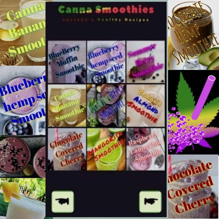 Another FREE App from Chef420 Smoothies,Blueberry, banana
