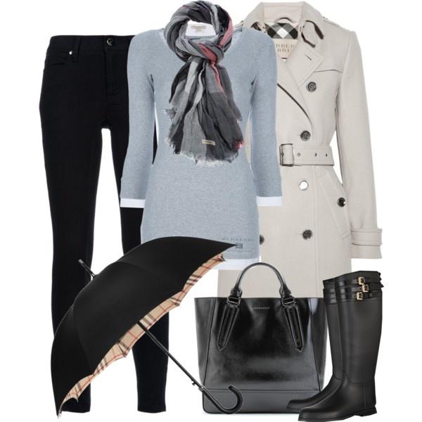 Burberry rainy day: Rain Outfits, Fashion Style Sexy, Fashion Ideas, Rainy Day, Fall Wint, Clothing Sho, Outfits Rainy, Winter Outfits, Clothing Outfits