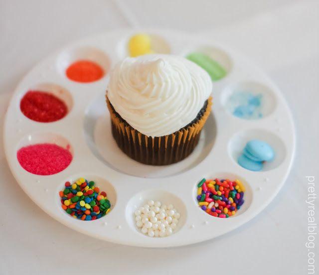 Cupcake Decorating Ideas Diy : Best 25+ Art party cakes ideas on Pinterest Art birthday ...