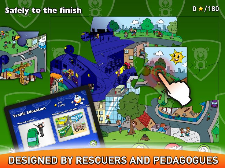 DESIGNED BY RESCUERS AND PEDAGOGUES