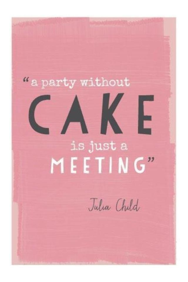 We love Julia Child and totally agree with this!