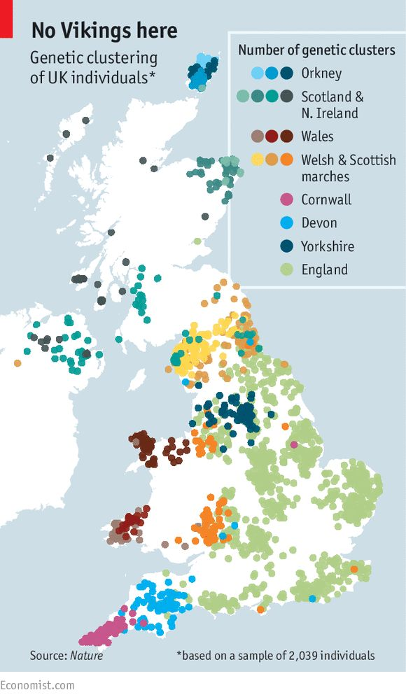 The genetic history of Britain: Who do you think you are? | The Economist