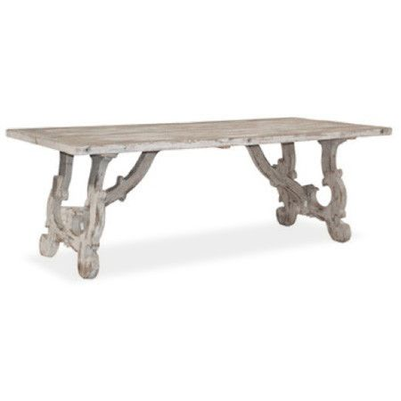 Vintage Reclaimed Wood Dining Table Canvasinteriors