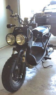 2011 Honda Ruckus for Sale (not the one for sale in the ad call for pictures) The 2011 Honda Ruckus for sale has just 5370 miles on it and the classic black paint color option.   The used scooter's performance can't be beat where