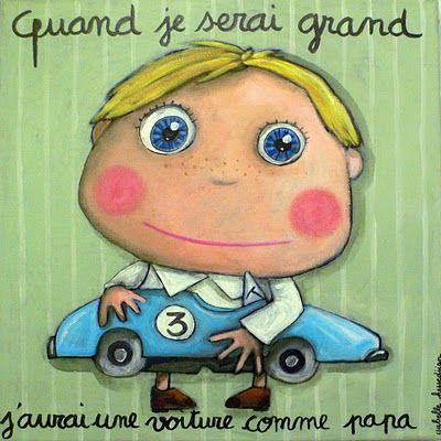 Quand je serai grand, j'aurai une voiture comme papa | Isabelle Kessedjian