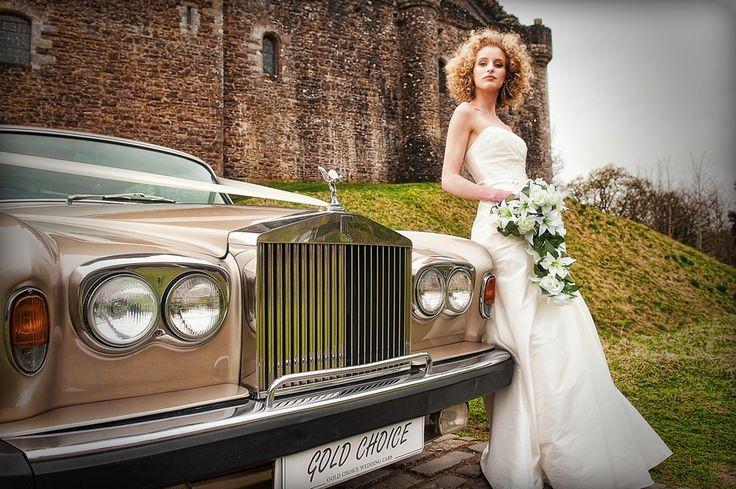 Rolls-Royce Shadow - a favourite for your wedding car www.goldchoiceweddingcars.co.uk